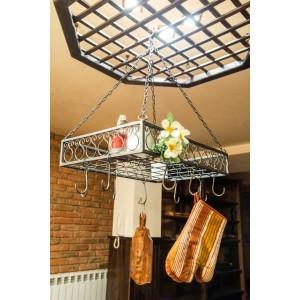 """Висяща закачалка за кухня """"Рио"""" Малки мебели"""