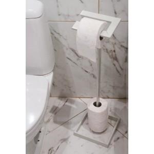 """Поставка за тоалетна хартия """"Идеал"""" - бяла Аксесоари"""
