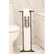 """Поставка за тоалетна хартия """"Лукс"""" - черна Аксесоари"""