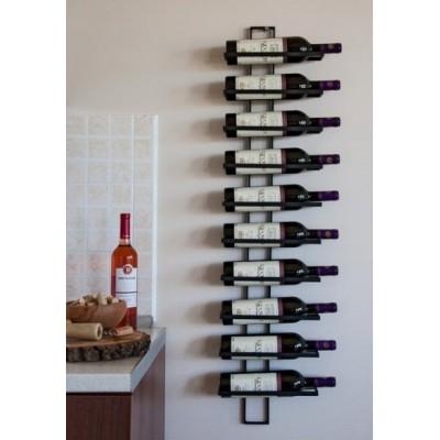 """Стелаж за вино """"Черга"""" - черен Стелажи за вино"""