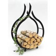 """Стойка за дърва """"Пламък"""" Аксесоари"""