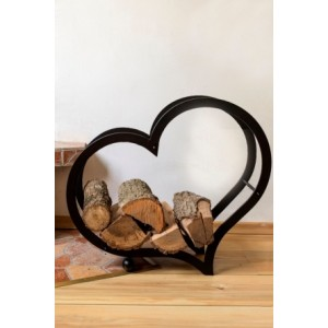 """Стойка за дърва """"Сърце"""" Аксесоари"""