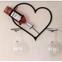 """Поставка за вино """"Сърце"""""""