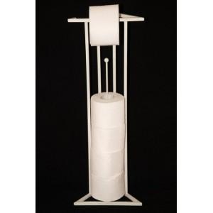 """Поставка за тоалетна хартия """"Лукс"""" - бяла Аксесоари"""