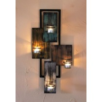 """Candle wall sconce """"Abstraction"""""""