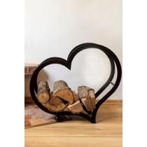 "Firewood stand ""Heart"""