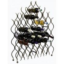 "Wine rack ""Flame"""