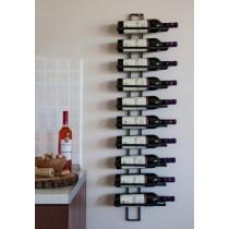 """Wine rack """"Rug"""" - black"""